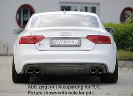 Audi A5 11-16 Купе/Кабрио Бампер задний S-Line