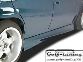 Opel Astra F 91-98 Накладки на пороги