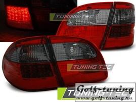 Mercedes W211 02-06 Универсал Фонари светодиодные красно-тонированные
