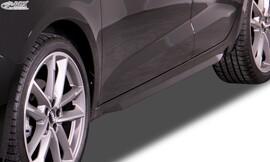 AUDI A1 (GB) 2019- Накладки на пороги Slim