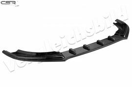 Skoda Octavia III RS 16- Накладка на передний бампер глянцевая