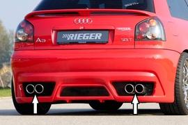Audi A3 8L Глушитель rieger 4x90mm