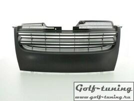 VW Jetta 05-09 Решетка радиатора без значка черная