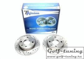Ford Ecort V+VI/Fiesta III/Courier Kasten/Orion III Комплект спортивных тормозных дисков