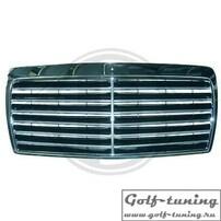 Mercedes W124 85-93 Решетка радиатора хром