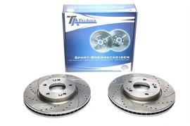 Hyundai/Kia Комплект спортивных тормозных дисков