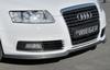Audi A6 4F 08-11 Накладка на передний бампер Carbon Look