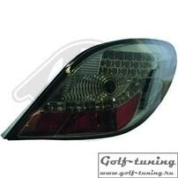Peugeot 207 06-12 Фонари светодиодные, тонированные