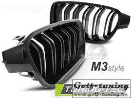 BMW F30/F31 11-18 Решетки радиатора (ноздри) M3 Look глянцевые