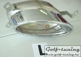 Audi A4/S4/A5/S5/RS5 B8 11- Насадки для глушителя 185x120mm oval хром
