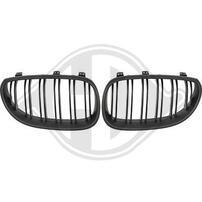 BMW E60/E61 03-07 Решетки радиатора (ноздри) M Look матовые