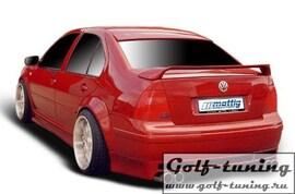 VW Bora Накладка на задний бампер