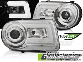Chrysler 300C 05-10 Фары Tube light хром