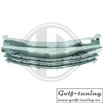 Opel Astra H GTC 3D 04-07 Решетка без значка хром