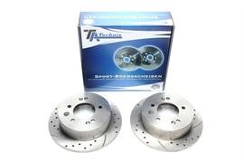 Hyundai Elantra 05-11 Комплект спортивных тормозных дисков