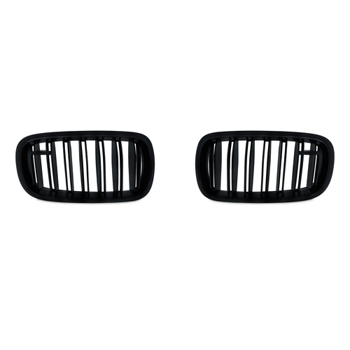 BMW X5(F15) 2013 -/X6(F16) 2014 - Решетки радиатора (ноздри) глянцевые