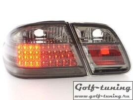 Mercedes W210 95-98 Фонари светодиодные, тонированные