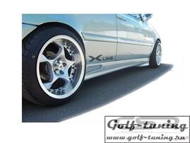 VW Golf 3/Golf 4/Vento/Ibiza 6K/Polo/Cordoba/Escort/Kadett  Накладки на пороги