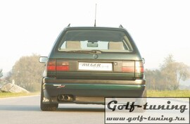 VW Passat B3 Универсал Накладка на задний бампер