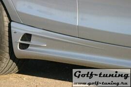 BMW E87 Накладки на пороги lumma
