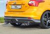 Ford Focus ST 11-14 Накладка на задний бампер Carbon Look