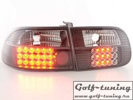 Honda Civic 96-00 3D Фонари светодиодные, черные