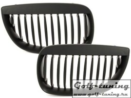 BMW E87 05-07 Решетки радиатора (ноздри) черные