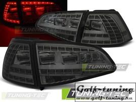 VW Golf 7 12-17 Фонари светодиодные, GTI Look тонированные