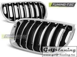 BMW X3 E83 04-06 Решетки радиатора (ноздри) черные