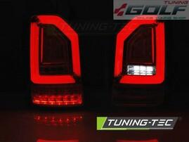 VW T6 15- Фонари светодиодные, led bar design красно-тонированные