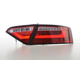 Audi A5 07-11 Купе/кабрио Фонари светодиодные, красно-белые