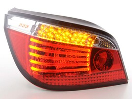BMW E60 03-07 Седан Фонари светодиодные, красно-белые