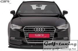 Audi A3 8V 12-16 Накладка на передний бампер Cupspoilerlippe