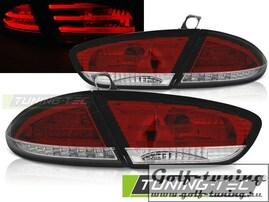 Seat Leon 09-13 Фонари светодиодные, красно-белые