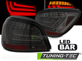 BMW E60 LCI 07-10 Фонари led bar тонированные