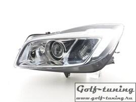 Opel Insignia 08-13 Фары Devil eyes, Dayline хром