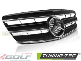 Mercedes W221 05-09 Решетка радиатора CL Style с хром полосками