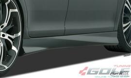 "Renault Megane 4 Седан/Универсал Накладки на пороги ""Turbo"""