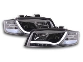 Audi A4 Typ 8E 01-04 Фары с LED габаритами черные