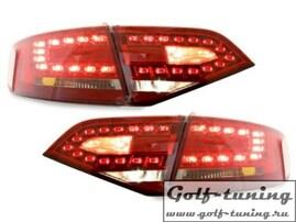 Audi A4 B8 07-11 Седан Фонари светодиодные, красные