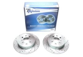 Honda Civic VII Комплект спортивных тормозных дисков