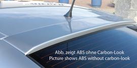 Opel Astra G Купе Козырек на заднее стекло Carbon Look