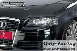 Audi A3 8P/8PA  Реснички на фары