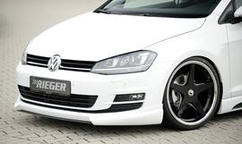 VW Golf 7 12-17 Спойлер переднего бампера
