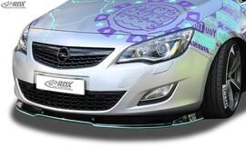 Opel Astra J 09-12 Спойлер переднего бампера VARIO-X