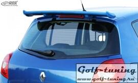 Renault Clio 3 Phase 1 / 2 Спойлер на крышку багажника