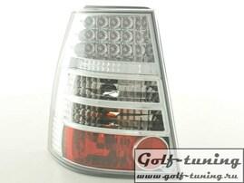 VW Golf 4 Универсал Фонари светодиодные, хром