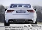 Audi A5 B8/B81 07-11 Sportback Накладка на задний бампер/диффузор carbon look