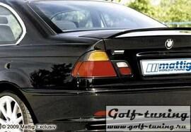 BMW E46 Coupe / Cabrio Накладки на фонари carbon look