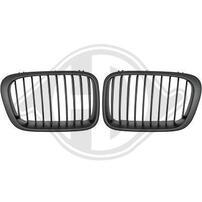 BMW E46 98-01 Решетки радиатора (ноздри) матовые